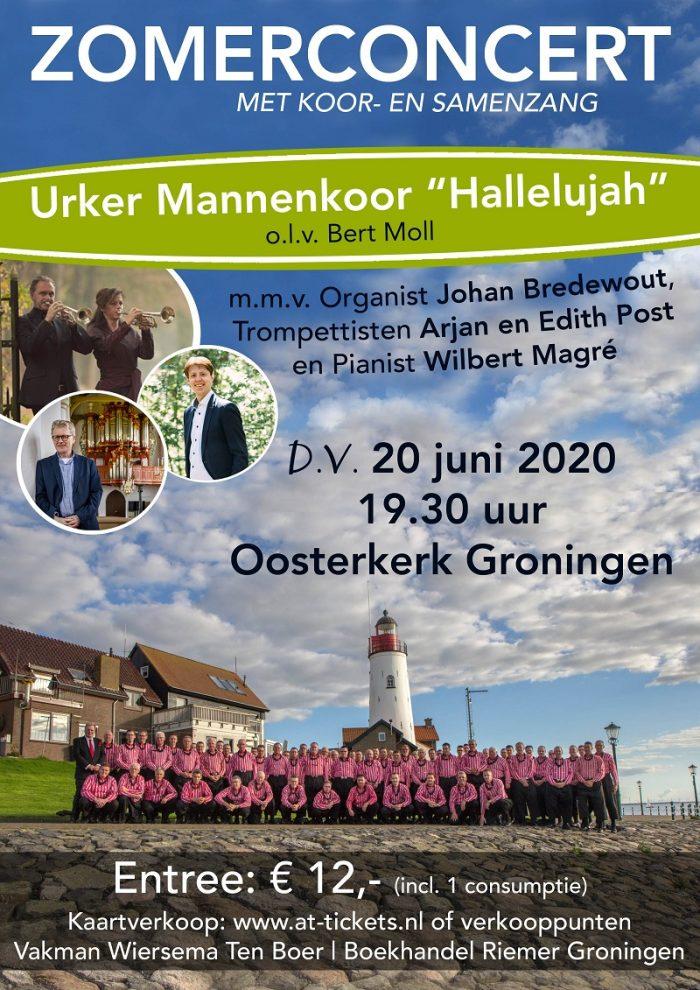 Flyer concert oosterkerk Groningen